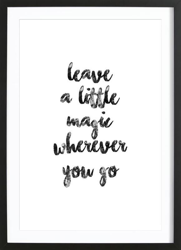 A Little Magic ingelijste print