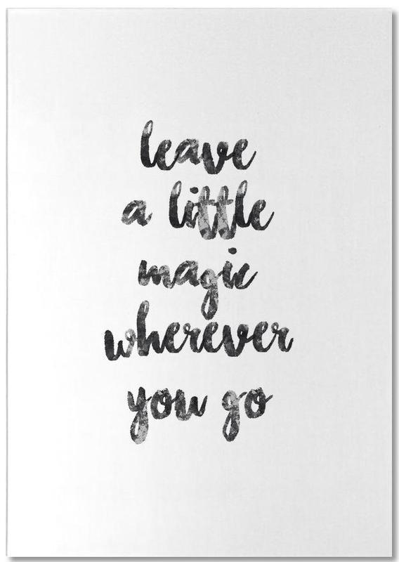 A Little Magic -Notizblock