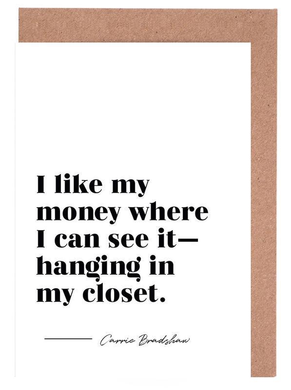 Carrie's Closet -Grußkarten-Set