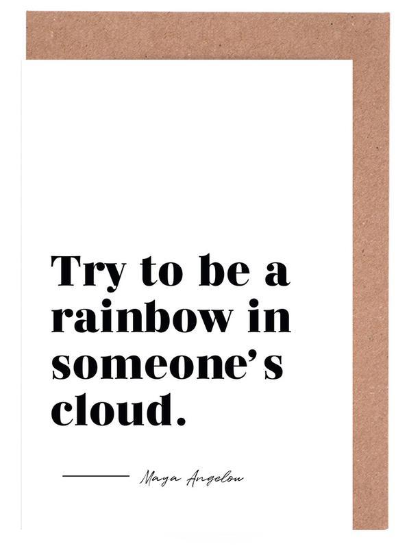 Rainbow cartes de vœux