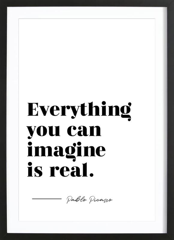 Everything is Real Framed Print