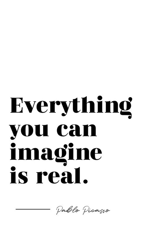 Everything is Real Acrylic Print