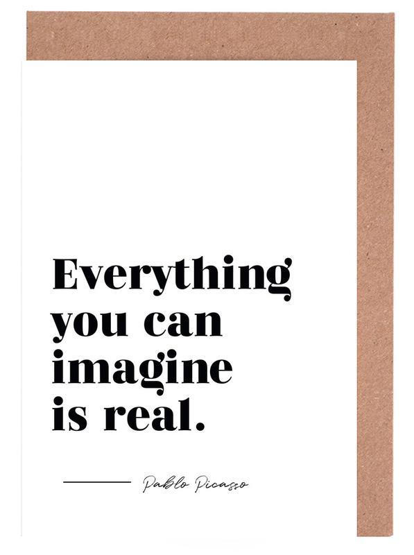 Everything is Real -Grußkarten-Set