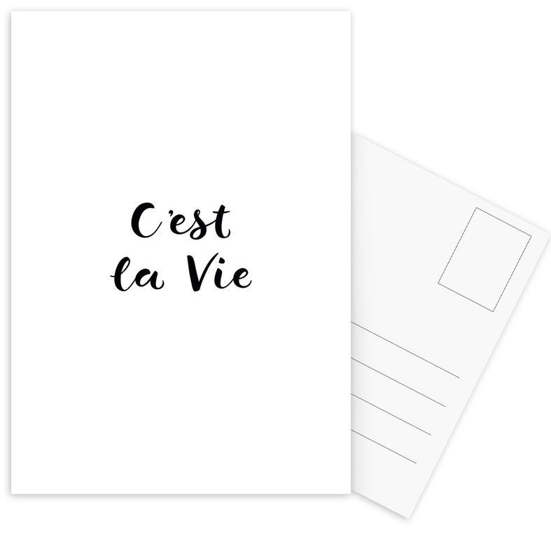 C'est la Vie cartes postales