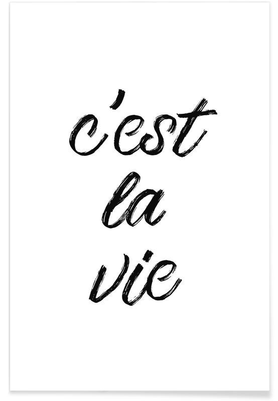 Black & White, C'est la vie Poster