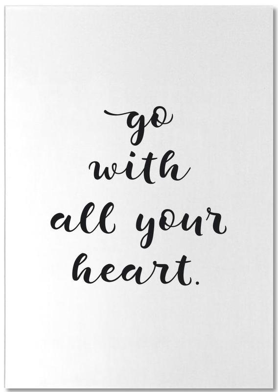 All Your Heart -Notizblock