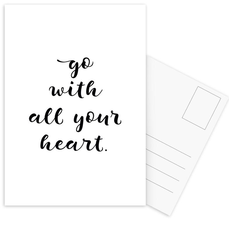 All Your Heart Postcard Set