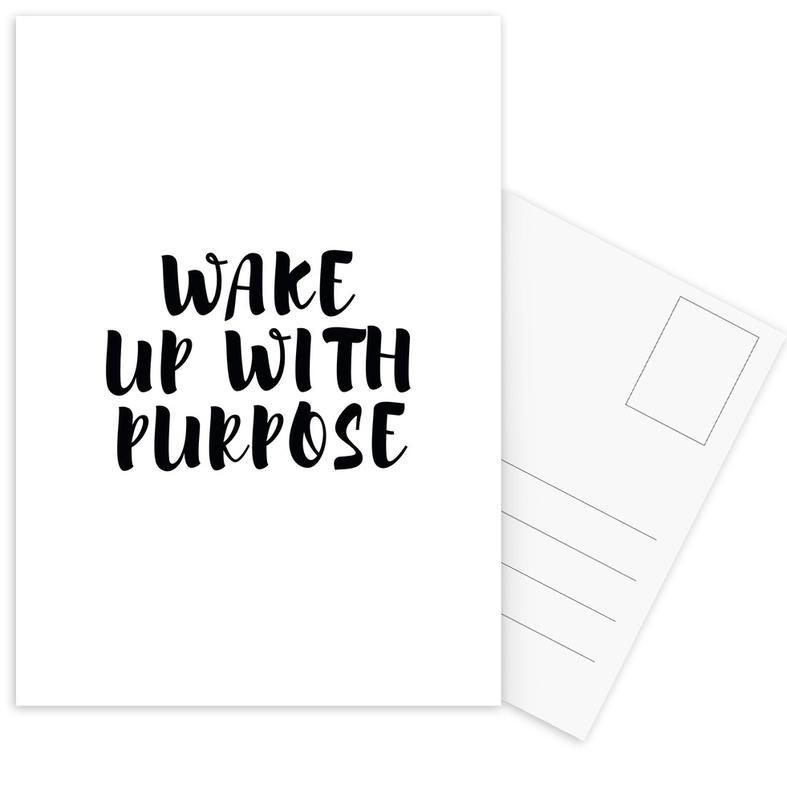 Wake Up cartes postales