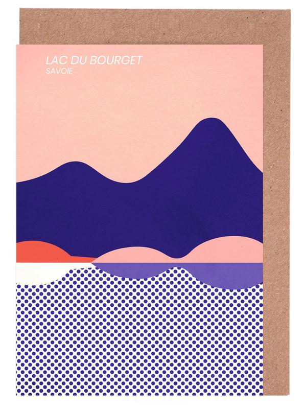 Lac du Bourget cartes de vœux