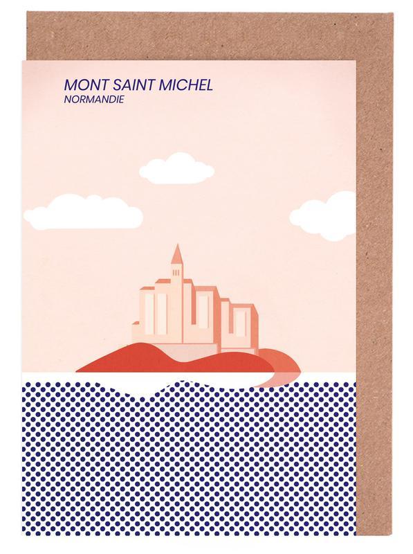 Mont Saint Michel cartes de vœux