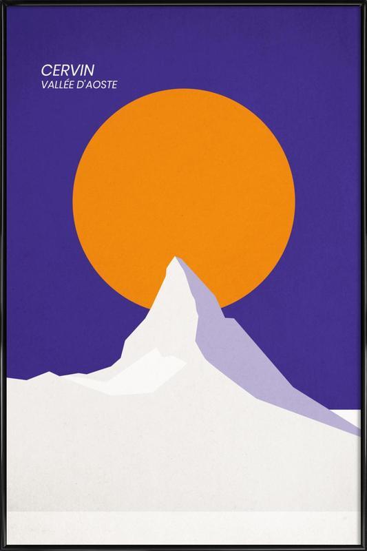 Cervin Poster i standardram