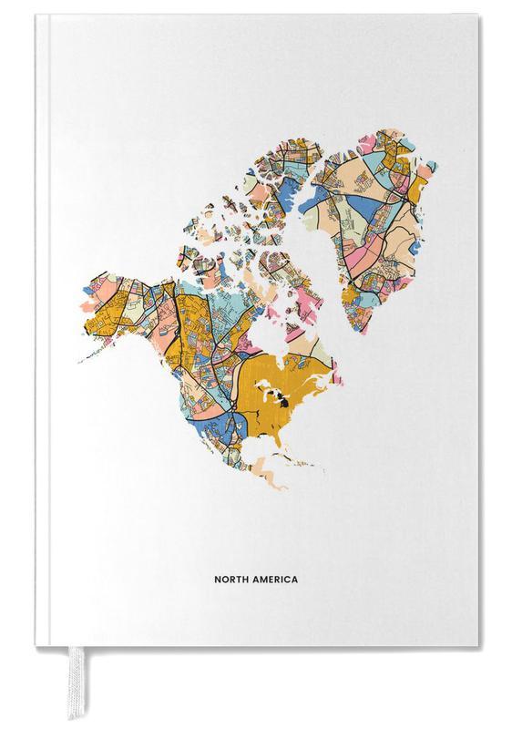 Weltkarten, North America -Terminplaner