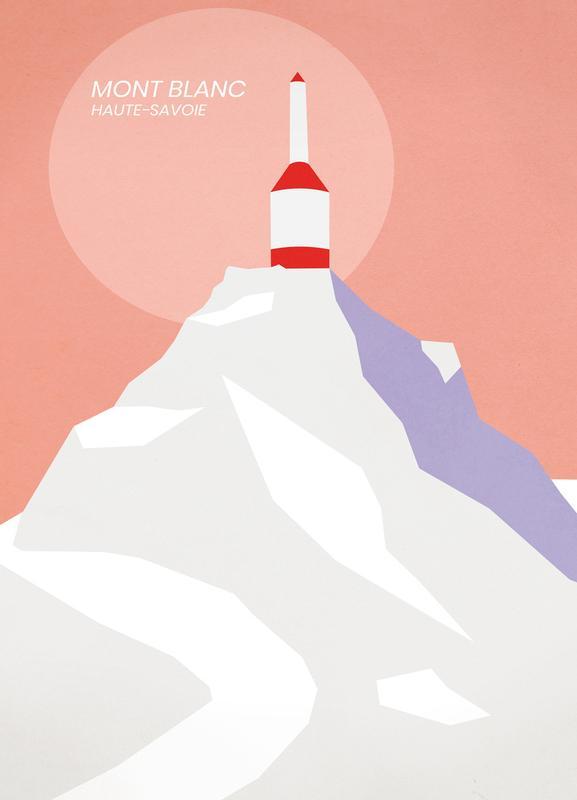 Mont Blanc Canvastavla