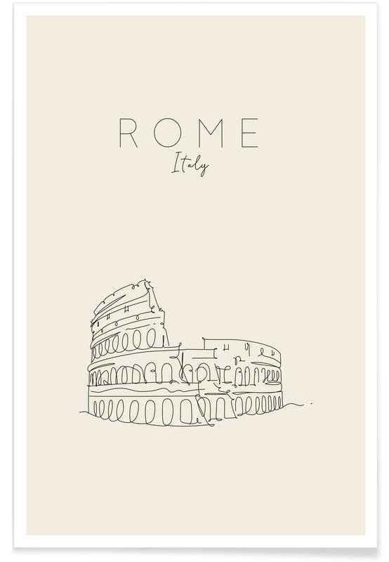 Rom, Reise, Rome -Poster