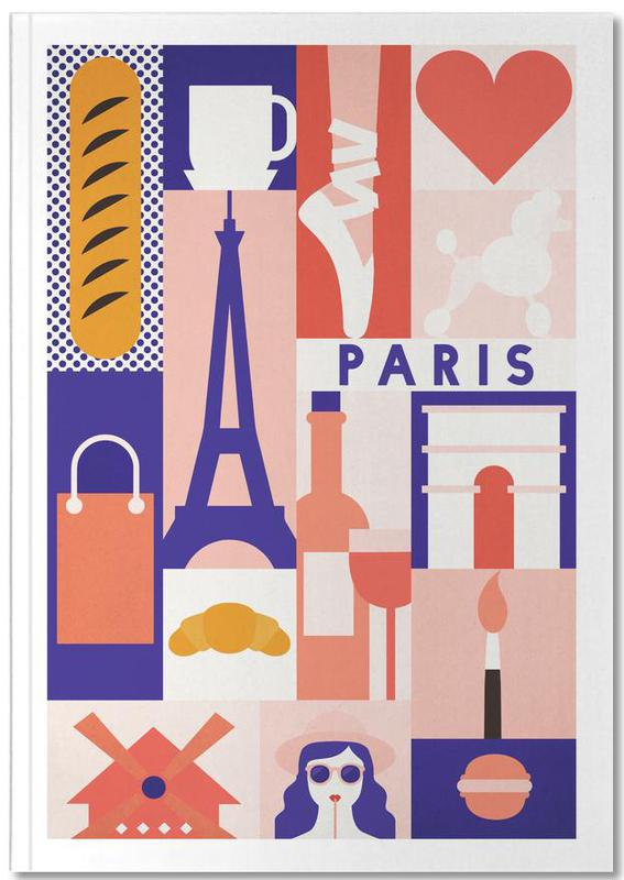 Iconic Paris Notebook