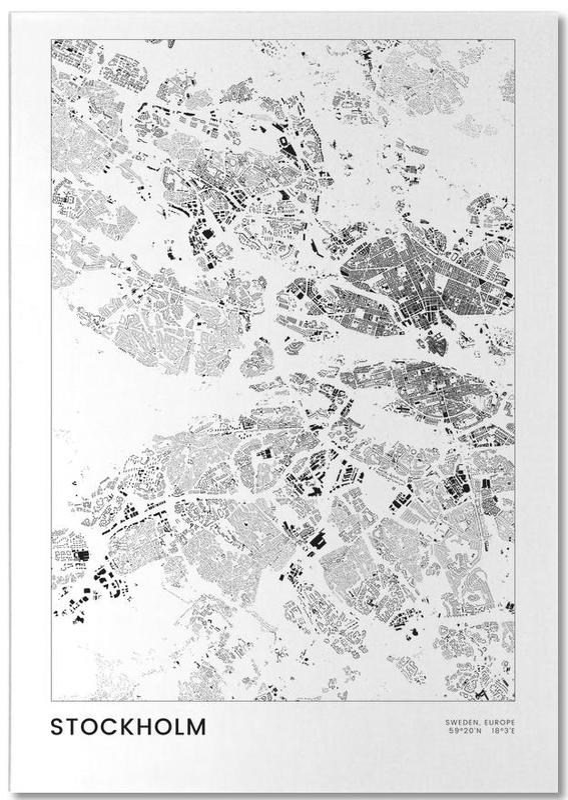 Noir & blanc, Stockholm, Stockholm bloc-notes