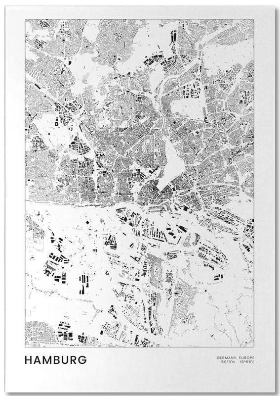 Hamburg, Zwart en wit, Hamburg notitieblok