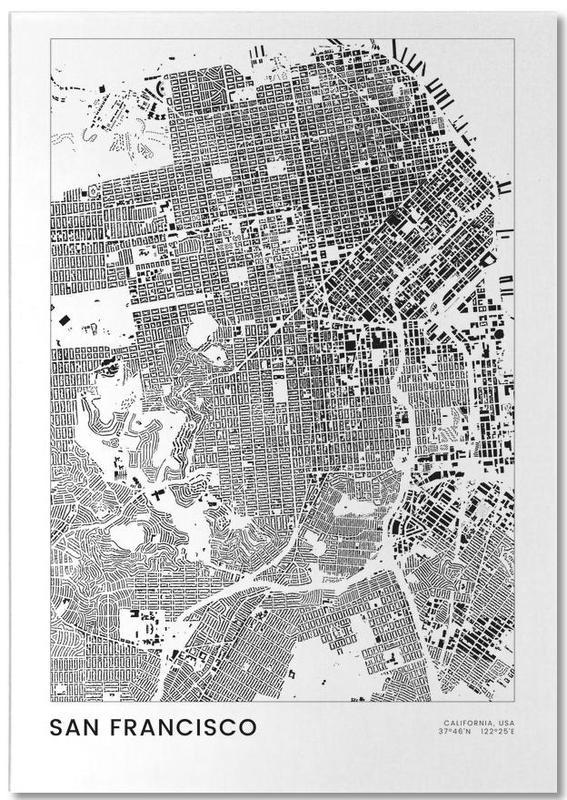 San Francisco, Zwart en wit, San Francisco notitieblok