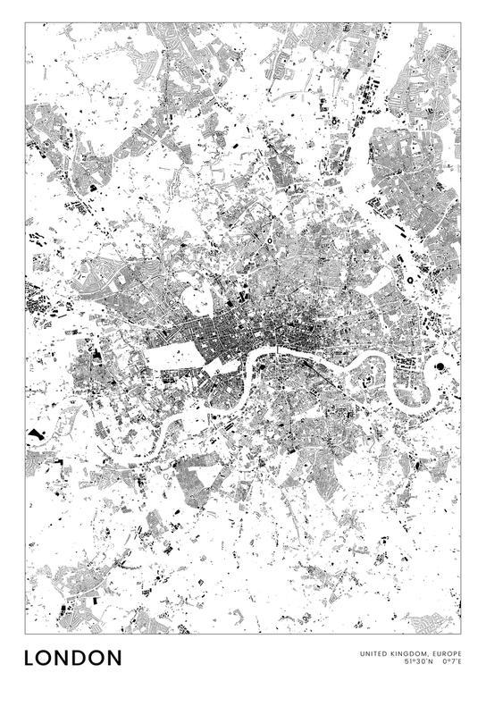 London Aluminium Print