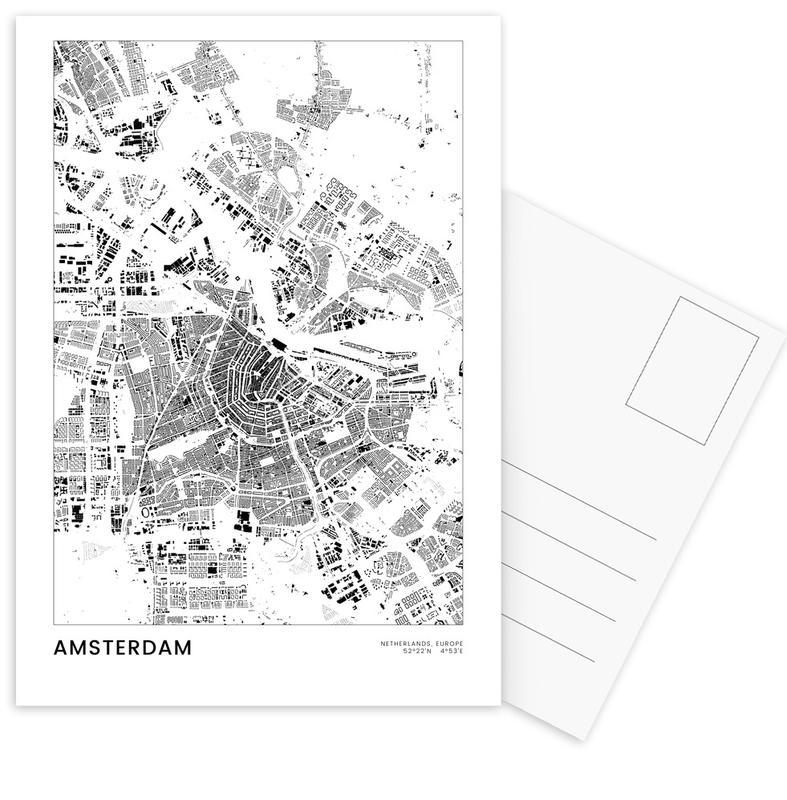 Amsterdam -Postkartenset