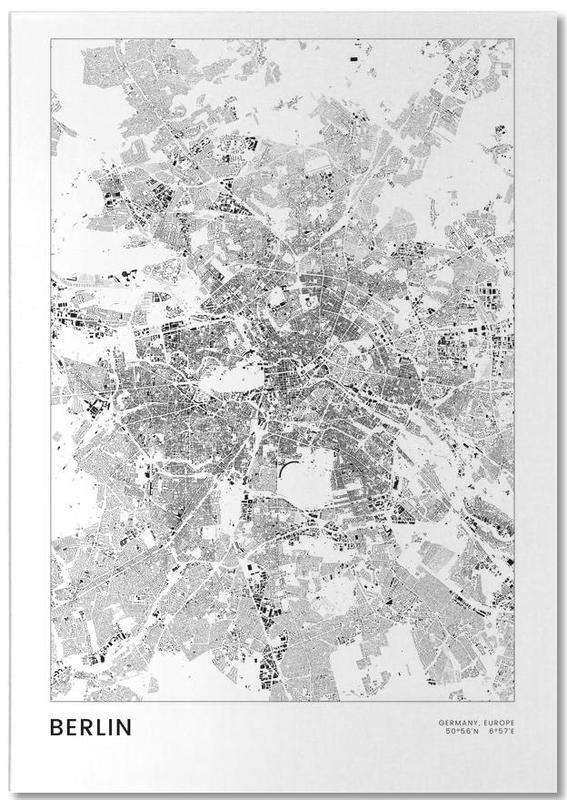 Berlin Map -Notizblock