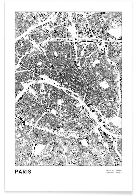 Sort & hvidt, Paris, Paris Plakat