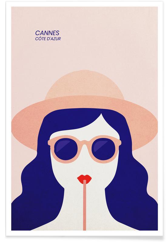 Portraits, Voyages, Cannes affiche