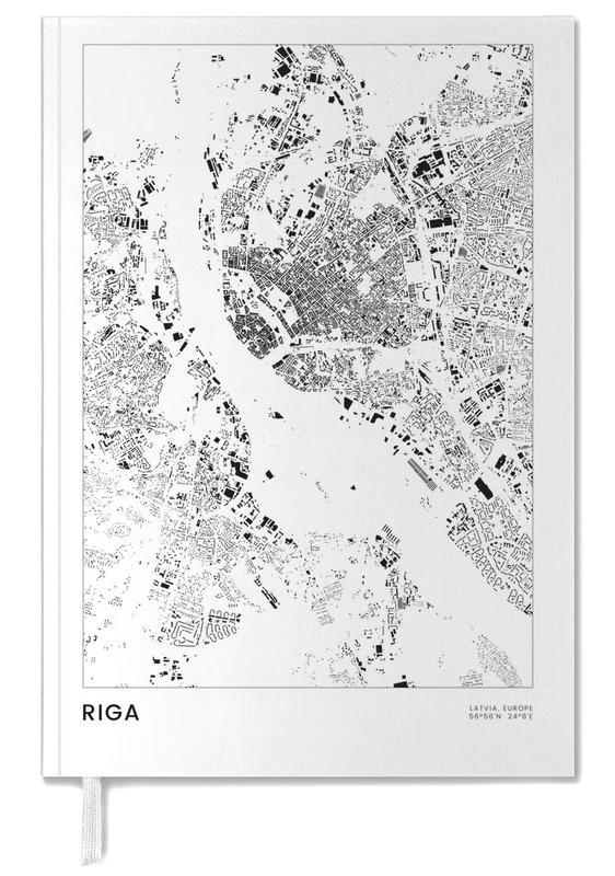 Stadskaarten, Reizen, Zwart en wit, Riga agenda