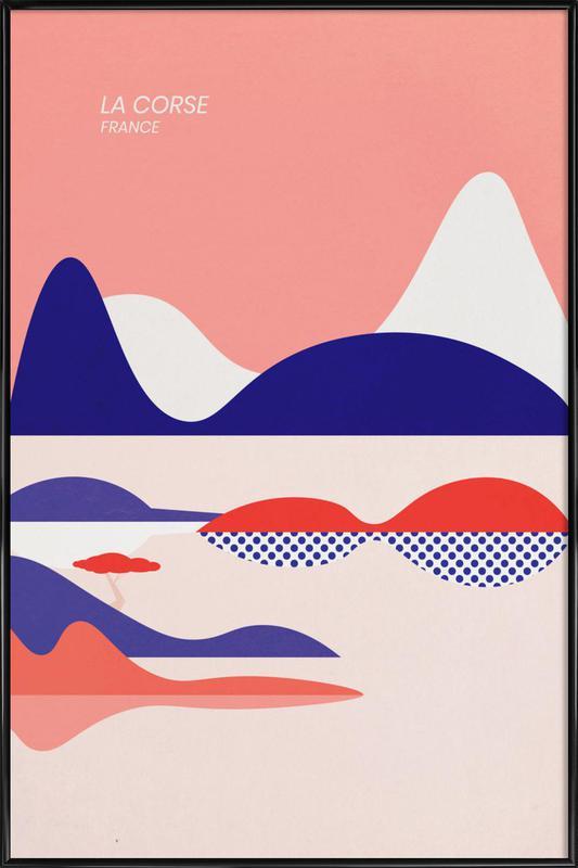 La Corse Framed Poster