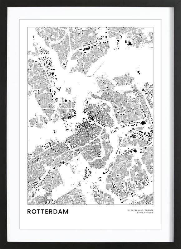 Rotterdam Poster i träram
