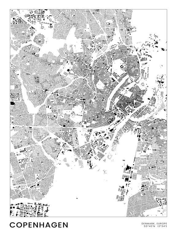 Copenhagen canvas doek