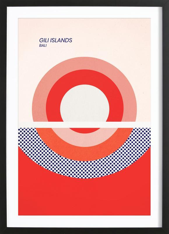 Gili Islands Framed Print