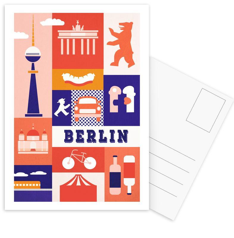 Berlin Icons -Postkartenset