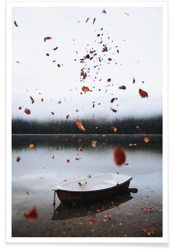 Océans, mers & lacs, Bateaux, Little Boat affiche