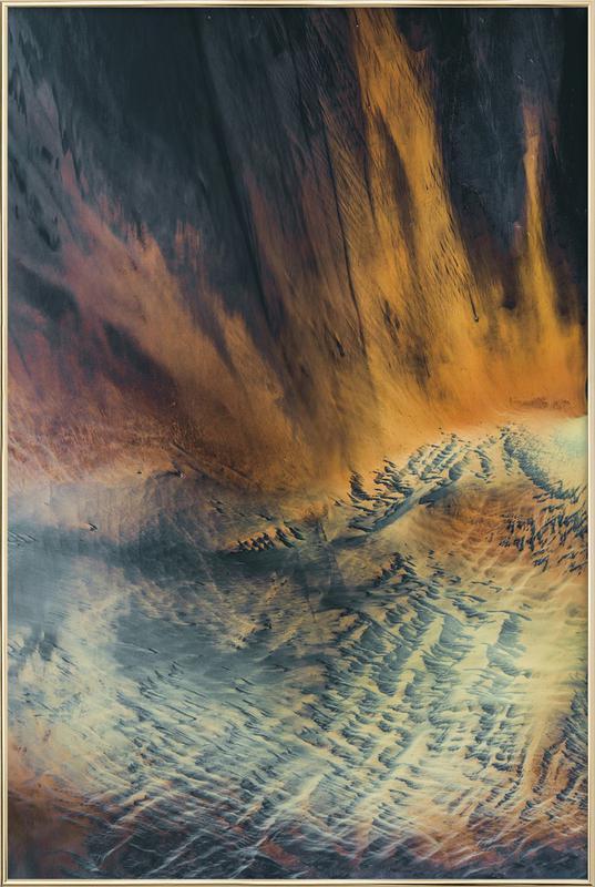 Minerals -Poster im Alurahmen