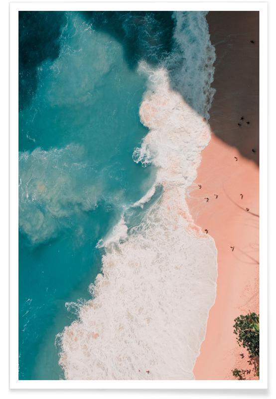 Ocean, Lake & Seascape, Beaches, Riptide Poster