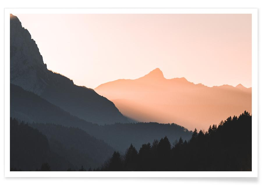 Mountains, Catching Shadows Poster