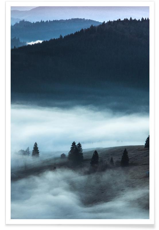 Wälder, Dusk Draws In -Poster