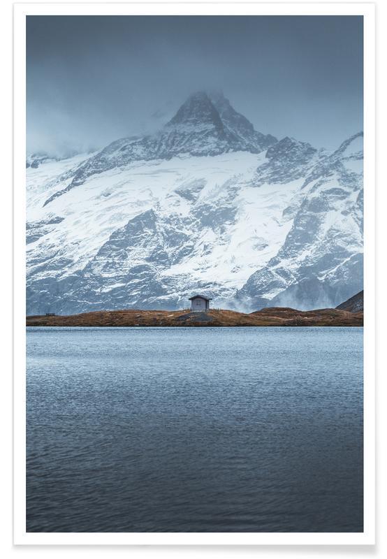 Mountains, Ocean, Lake & Seascape, The Getaway Poster