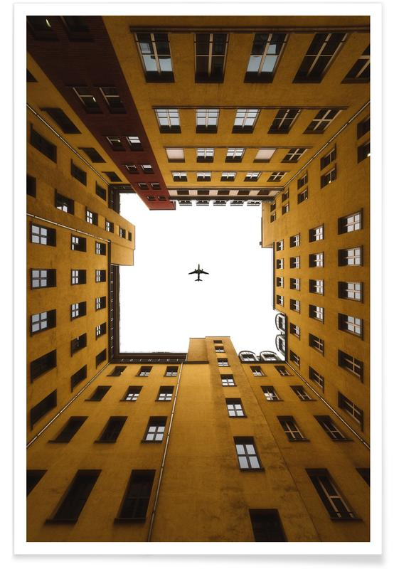 Architectural Details, Look Up Poster