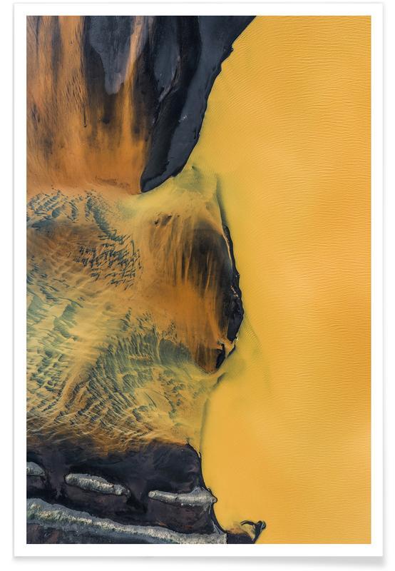 Yellow Lake Plakat