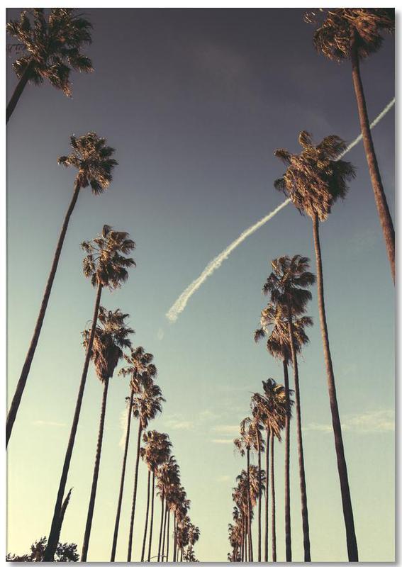Los Angeles, Palmiers, Couchers de soleil, Monuments et vues, Voyages, On Sunset bloc-notes