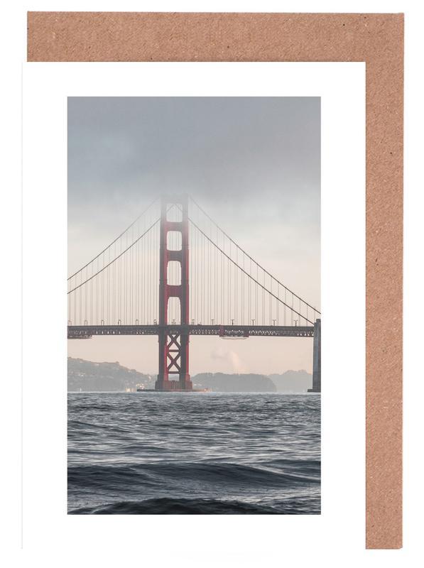 Brücken, Sehenswürdigkeiten & Wahrzeichen, Reise, Golden Gate Bridge -Grußkarten-Set