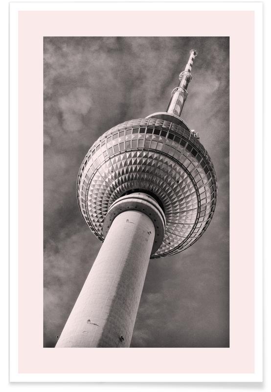Berlino, Vedute & monumenti, Berliner Fernsehturm poster