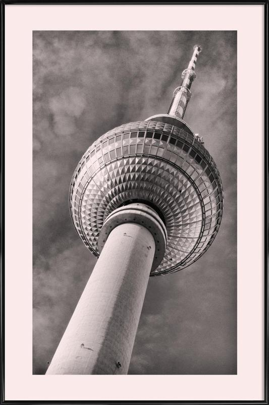 Berliner Fernsehturm Framed Poster