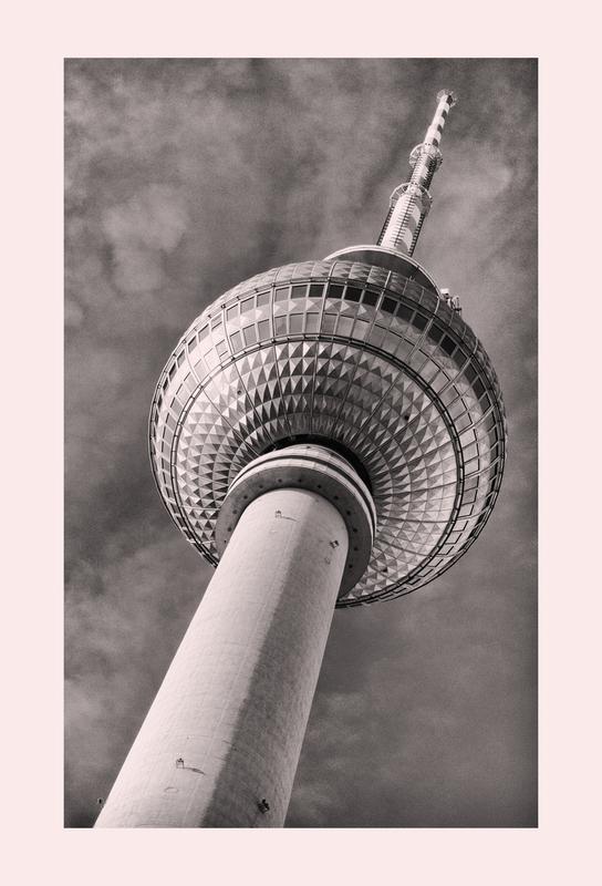 Berliner Fernsehturm -Alubild
