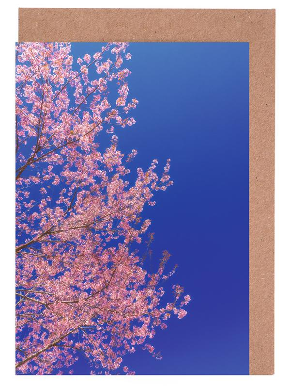 Cherry Blossom, Japan Greeting Card Set