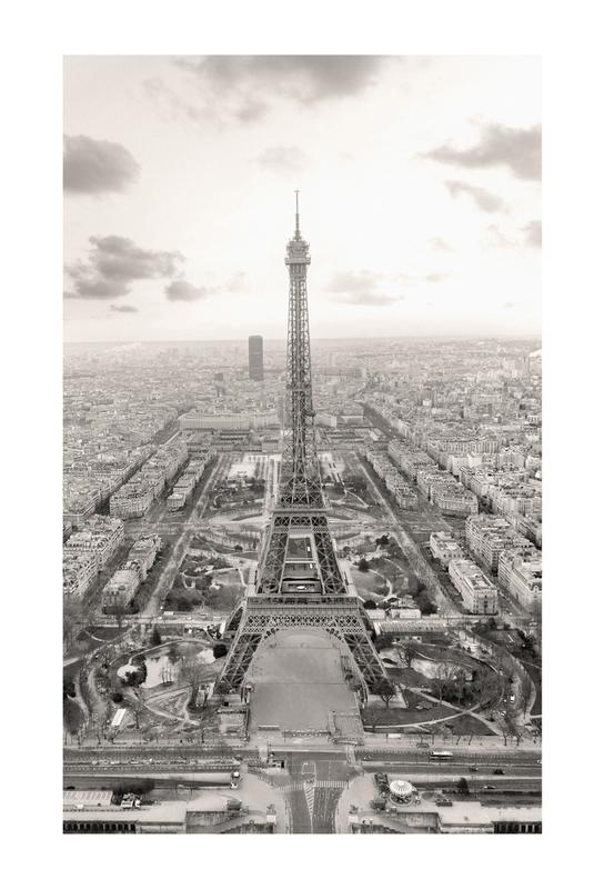 Tour Eiffel Aluminiumtavla