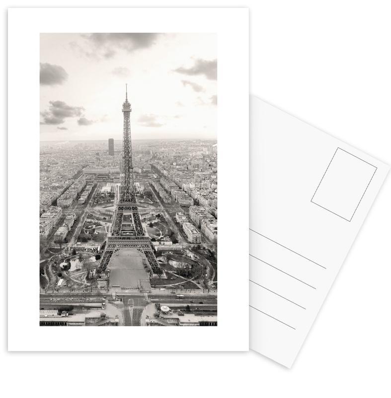Tour Eiffel -Postkartenset
