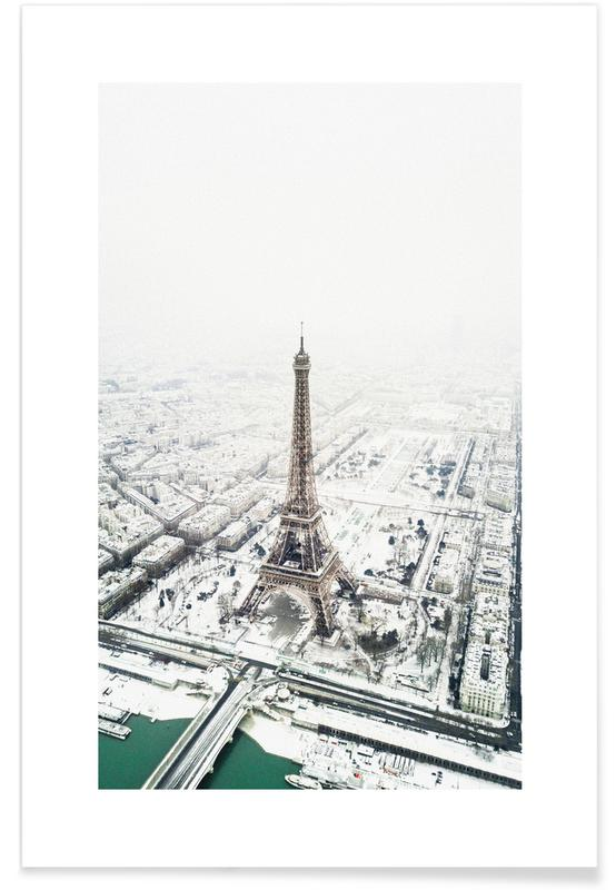 Paris in Winter Poster